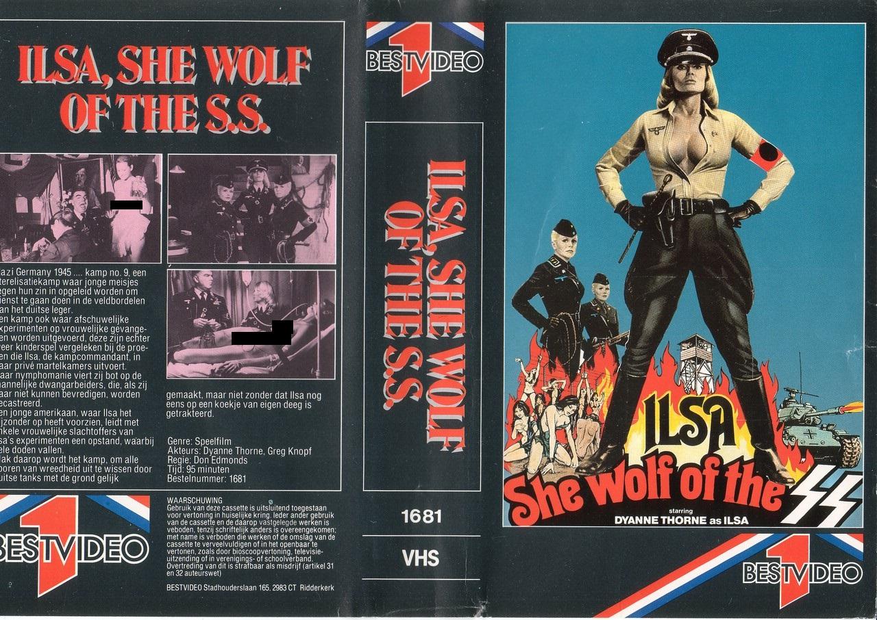 Ilsa - La Belva Delle SS Cover