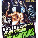 Santo el enmascarado de plata y Blue Demon contra los monstrous (Film)